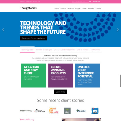 ThoughtWorks site image